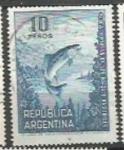 Sellos de America - Argentina -  INTERCAMBIO SCOTT N°1045 (cotiz.0.20 USD)