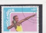 Stamps Mozambique -  Lanzamiento de pesas