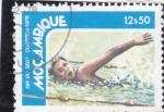Stamps Mozambique -  Natación