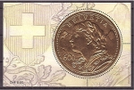 Stamps : Europe : Switzerland :  goldvreneli