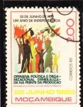 Stamps Mozambique -  1 Año de Independencia