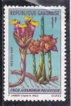 Stamps Gabon -  Flores-