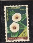 Sellos de Africa - Benin -  Flores-