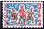 Stamps : Africa : Benin :  >Danza Nago