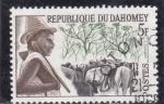 Stamps : Africa : Benin :  Pastor
