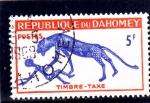 Stamps : America : Benin :  Pintura rupestre