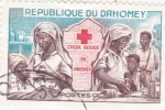 Stamps : Africa : Benin :  Cruz Roja