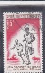 Sellos del Mundo : Africa : Benin :  Juegos deportivos de Dakar