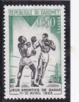 Stamps : Africa : Benin :  Juegos deportivos de Dakar