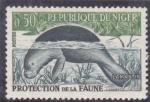 Stamps : Africa : Niger :  Protección de la Fauna