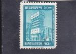 Stamps : Asia : Bangladesh :  Factoría de fertilizantes