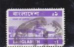 Stamps : Asia : Bangladesh :  Mausoleo