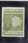 Sellos del Mundo : Asia : Bangladesh : Flor