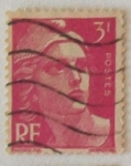 Stamps : Europe : France :  Marianne de Gandon