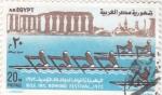 Sellos del Mundo : Africa : Egipto : competición de remo