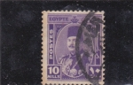 Stamps : Africa : Egypt :  rey fuad