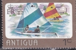 Stamps : America : Antigua_and_Barbuda :  competición de vela