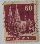 Stamps : Europe : Germany :  DEUTSCHE POST