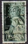 Sellos de Europa - España -  ESPAÑA 1964 1598 Sello Coronacion Virgen Macarena Usado