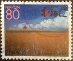 Stamps Japan -  Scott#Z314 Intercambio 0,75 usd  80 y. 1999