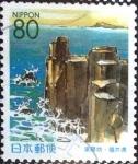 Stamps Japan -  Scott#Z373 Intercambio 0,75 usd  80 y. 1999