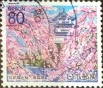 Stamps Japan -  Scott#Z397 Intercambio 0,75 usd  80 y. 2000