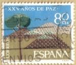 Stamps Spain -  XXV Años de Paz - Repoblacion Forestal