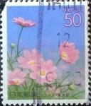 Stamps Japan -  Scott#Z413 Intercambio 0,50 usd  50 y. 2000