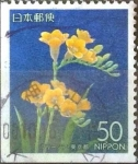 Stamps Japan -  Scott#Z417 Intercambio 0,50 usd  50 y. 2000