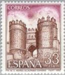 Stamps Europe - Spain -  TURISMO - 1982 Puerta de San Andrés (Villalpando-Zamora)