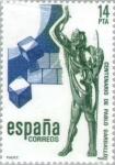 Stamps Europe - Spain -  CENTº NACIMIENTO ESCULTOR PABLO GARGALLO
