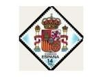Stamps Europe - Spain -  ESCUDO NACIONAL (ESPAÑA)
