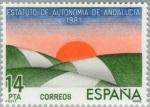 Stamps Europe - Spain -  ESTATUTO DE AUTONOMÍA ANDALUCIA