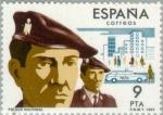 Stamps Spain -  CUERPOS DE SEGURIDAD DEL ESTADO Policía Nacional