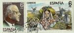 Stamps Spain -  MAESTROS DE LA ZARZUELA Jacinto Guerrero-La rosa del azafrán