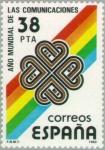 Stamps Spain -  AÑO MUNDIAL DE LAS TELECOMUNICACIONES
