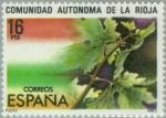 Stamps Spain -  ESTATUTO DE AUTONOMÍA LA RIOJA