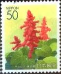 Sellos de Asia - Japón -  Scott#Z488 m1b Intercambio 0,50 usd  50 y. 2001