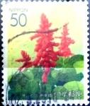 Sellos de Asia - Japón -  Scott#Z488 Intercambio 0,50 usd  50 y. 2001