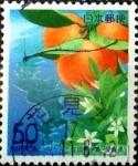 Sellos de Asia - Japón -  Scott#Z535 Intercambio 0,60 usd  50 y. 2002