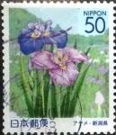 Stamps Japan -  Scott#Z547 Intercambio 0,60 usd  50 y. 2002