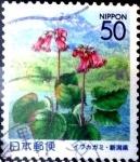 Sellos de Asia - Japón -  Scott#Z548 Intercambio 0,60 usd  50 y. 2002