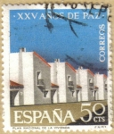 Stamps Spain -  XXV Años de Paz - Viviendas
