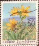 Stamps Japan -  Scott#Z584 Intercambio 0,60 usd  50 y. 2003