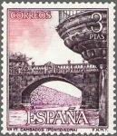 Sellos del Mundo : Europa : España : ESPAÑA 1965 1651 Sello Nuevo Serie Turistica Pazo Fefiñanes Cambados Pontevedra