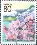 Stamps Japan -  Scott#Z762 Intercambio 1,00 usd  80 y. 2006