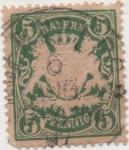 Stamps Germany -  Baviera Y & T Nº 39 [2]