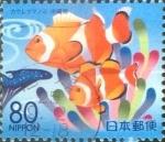 Stamps Japan -  Scott#Z803 Intercambio 1,00 usd  80 y. 2007