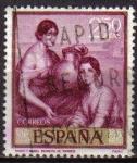 Sellos del Mundo : Europa : España : ESPAÑA 1965 1663 Sello Julio Romero de Torres Marta y Maria Usado