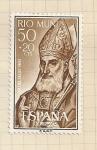 Stamps Spain -  Río Muni, Día del Sello 1960